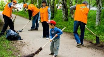 Месячнік па добраўпарадкаванню пачаўся на Лунінеччыне 12 сакавіка