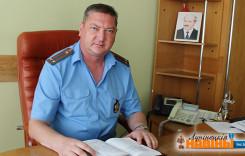 Новы кіраўнік аддзела міліцыі
