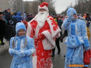 Деды Морозы «зажгут» ёлку