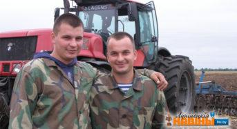 Браты Рудзько з Сінкевіч — пераможцы па жніву ў раёне і вобласці