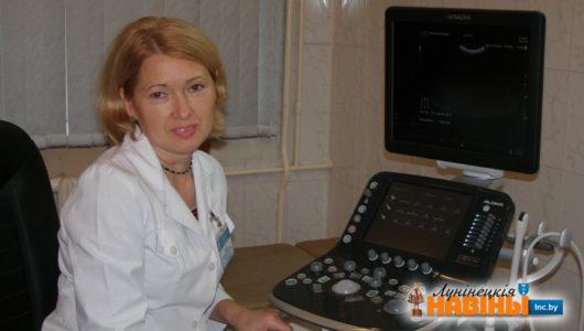"""Новы УЗІ-апарат набыў """"Граніт"""" для мясцовай бальніцы"""