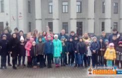 Выхадны дзень у Мінску правялі дзеці работнікаў малочнага завода