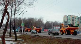 Чатыры «БелАЗы»30-тоннікі папоўнілі рухомы састаў аўтапарка №10