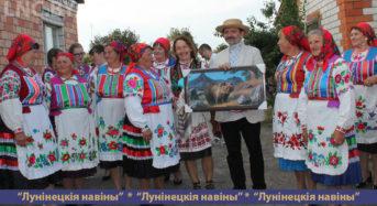 В Дятловичах на сельском подворье звучали народные песни и аплодисменты зрителей
