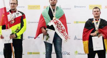 Юноша из Лунинетчины стал победителем международного конкурса лесорубов