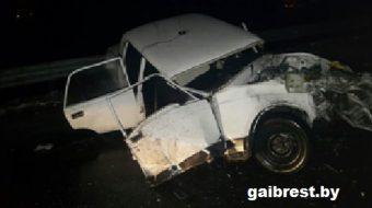В ДТП погиб милиционер
