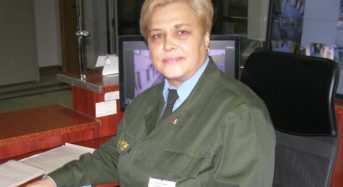 Праздник на работе встречает сотрудница сторожевой охраны РУПП «Гранит» Ирина КУШНЕРЕВИЧ