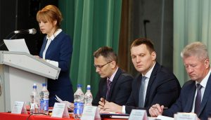 В агрогородке Томашовка прошла итоговая коллегия главного управления идеологической работы и по делам молодежи облисполкома