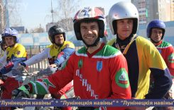 Кубок Беларуси по мотоболу состоялся на обновленном мотодроме в Лунинце