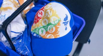 Первые волонтеры примерили форму II Европейских игр