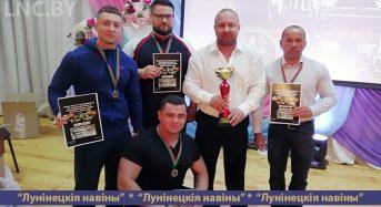 «Олимп-Адреналин» стал лучшим на Кубках Брестской области по жиму штанги лежа