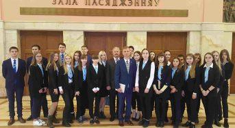 Учащиеся гимназии им. Недведского посетили Минск с экскурсией