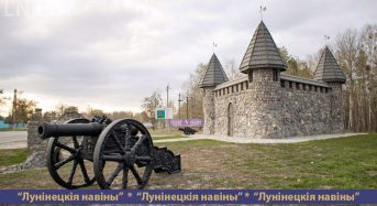 В Микашевичах продолжается благоустройство декоративного замка