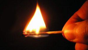 Лунинчанин подозревается в поджоге дома
